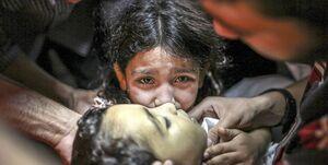 شمار کودکان شهید در حملات اسرائیل به غزه به ۱۰ نفر افزایش یافت