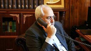 بررسی آخرین تحولات منطقه در تماس تلفنی ظریف با صبری بوقدوم