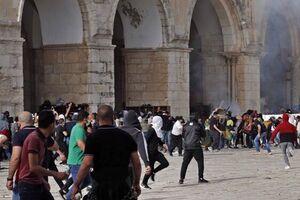 مجروح شدن 5 نظامی صهیونیست در درگیری با جوانان فلسطینی در یافا - کراپشده