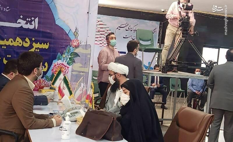 ثبتنام داوطلبان ریاستجمهوری در خیابان فاطمی آغاز شد+عکس و فیلم
