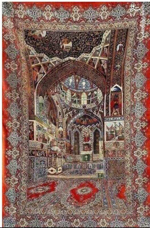 فرش سه بعدی ایرانی+ عکس
