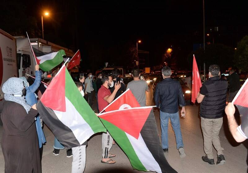 کشور ترکیه , فلسطین ,