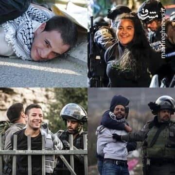 چرا فلسطینیها هنگام دستگیری لبخند میزنند؟ + تصاویر