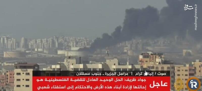 نگاهی به ۲۴ ساعت کابوس وار رژیم صهیونیستی با آغاز حملات مقاومت در غزه / پدافند گنبد آهنین تسلیم شد؛ عسقلان به شهر ارواح تبدیل شده است +تصاویر و فیلم