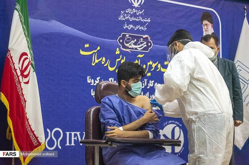 تزریق کارآزمایی بالینی واکسن کرونا ایران و کوبا به فرزند رئیس دانشگاه علوم پزشکی بابل