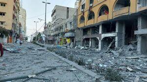 غزه زیر بمباران گسترده