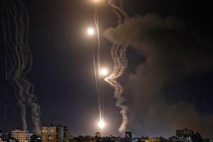 شلیک راکت و موشک از نوار غزه