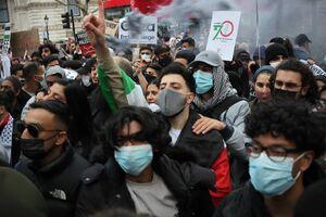 عکس/ تظاهرات حمایت از فلسطین در لندن
