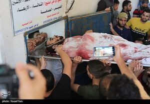 عکس/ جنایت جدید رژیم صهیونیستی به غزه