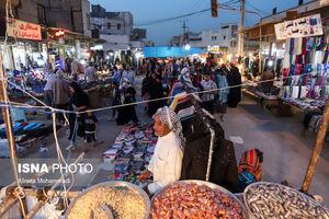 عکس/ بازار اهواز در آستانه عید فطر