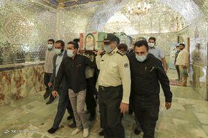 """عکس/ مراسم تشییع پیکر شهید""""صادق کریمی"""" در شیراز"""