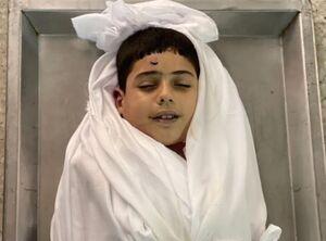 عکس/ لبخند کودک شهید فلسطینی
