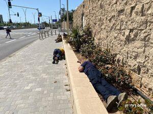 عکس/ موشک مقاومت بندر شهر عسقلان را هدف قرار داد