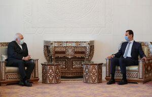عکس/ دیدار ظریف با بشار اسد