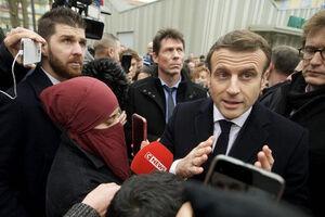 فرانسه مانع حضور زن با حجاب در انتخابات شد