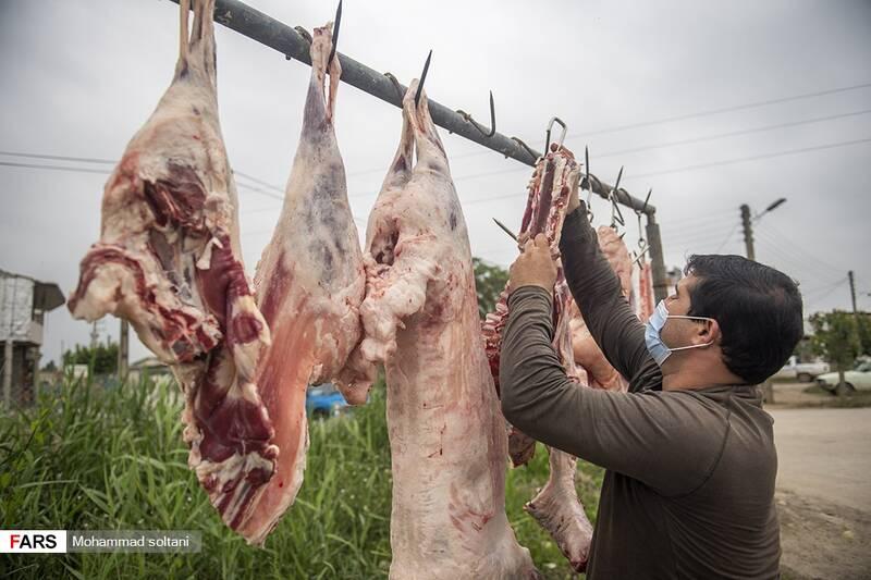 به گفته ریش سفیدان این منطقه هر قصاب بیش از ۲۰ راس دام کشتار و به عرصه فروش می گذاشتند