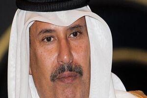 نخست وزیر اسبق قطر:برخی عربها برای فلسطین اشک تمساح میریزند - کراپشده