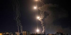 تلآویو زیر موشکباران مقاومت فلسطین