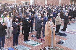 عکس/ اقامه نماز عید فطر در اردبیل
