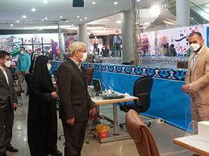 عکس/ بازدید رئیس ستاد انتخابات از روند ثبت نام