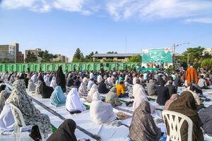 عکس/ نماز عید سعید فطر درمصلی بجنورد