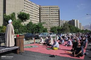 نماز عید فطر در همه جای پایتخت با آرامش برگزار شد