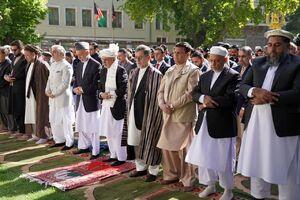 عکس/ نماز عید سعید فطر در افغانستان