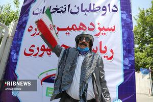 عکس/ تیپ متفاوت نامزدهای انتخابات ۱۴۰۰