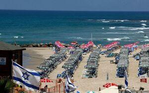 عکس/ سکوت مرگ در سواحل تل آویو