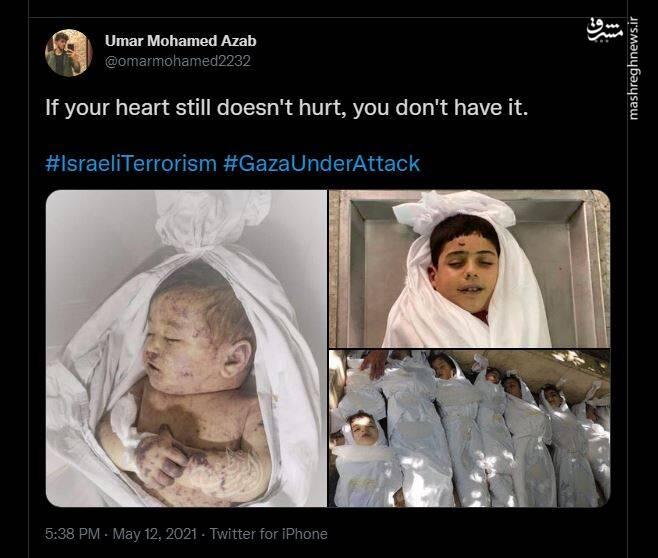 توییت کاربر مصری برای کسانی که قلب ندارند!