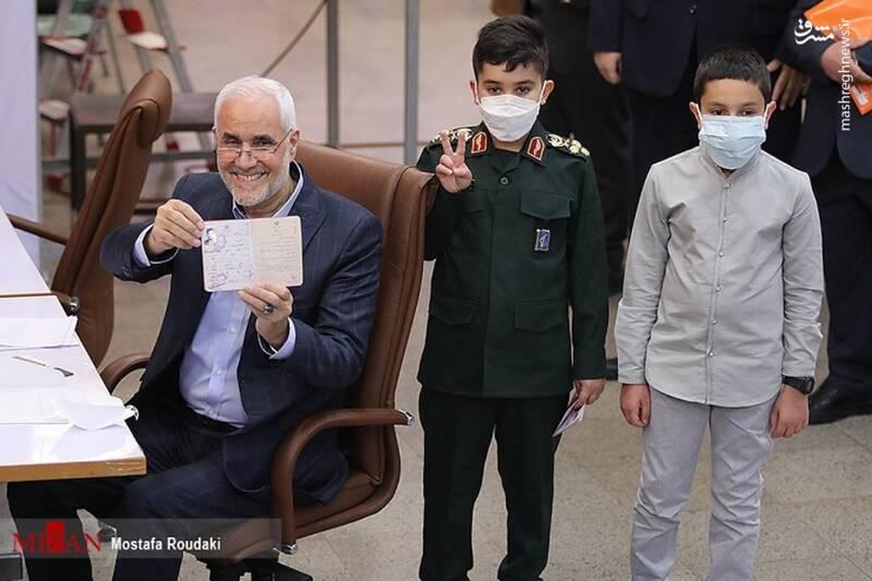 نام نویسی «مهرعلیزاده» برای ریاست جمهوری سیزدهم+عکس