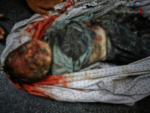 عکس/ اجساد خانواده ۶ نفره در شمال غزه ۱۳+
