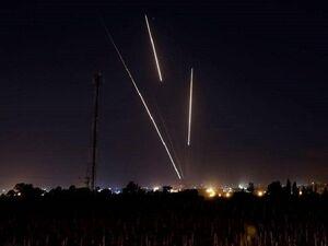 سرزمین های اشغالی با ۱۵۰ موشک هدف قرار گرفت