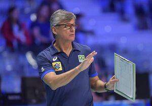 برزیل بدون سرمربی در لیگ ملتهای والیبال؟
