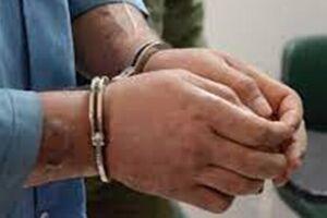 دستگیری مامور قلابی و کشف یک فقره کارت شناسایی جعلی - کراپشده