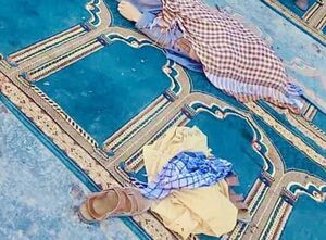 اولین تصاویر از انفجار خونین در مراسم نماز جمعه کابل