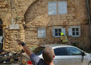 """عکس/ آتش سوزی در هتل """"عکا"""""""
