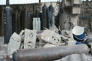 انفجار کپسولهای شارژ اکسیژن ۳ مصدوم برجای گذاشت