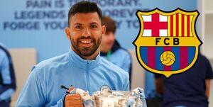 آگوئرو با بارسلونا به توافق رسید / 2 خرید آبیاناریها از پپ گواردیولا