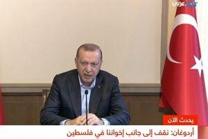 اردوغان: ما از ظلم اسرائیلِ تروریست علیه کودکان فلسطین خشمگین و اندوهگین هستیم - کراپشده
