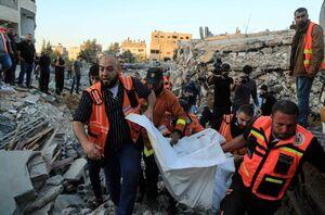 شمار شهدای حملات رژیم صهیونیستی در غزه به ۱۲۲ تن افزایش یافت