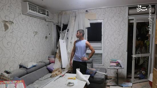 فیلم/ وضعیت خانه غصبی یک صهیونیست