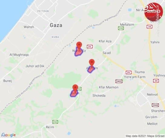الگوگیری مقاومت فلسطین از شیوه نبرد انصارالله یمن با دشمن سعودی / تاسیسات حیاتی رژیم صهیونیستی هدف حملات هوشمندانه مقاومت / پهپادهای انتحاری و موشکهای برد بلند وارد کارزار شدند +تصاویر