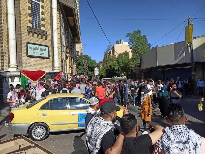 هزاران اردنی در حمایت از مقاومت عازم مرز فلسطین شدند