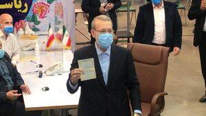 عکس/ علی لاریجانی داوطلب ریاستجمهوری شد