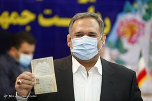 عکس/ ثبت نام سید شمس الدین حسینی در انتخابات ۱۴۰۰