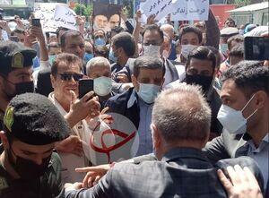 عکس/ ثبت نام عزت الله ضرغامی در انتخابات
