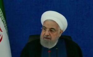 فیلم/ روحانی دوباره صحبت از عبور از پیک کرونا کرد!