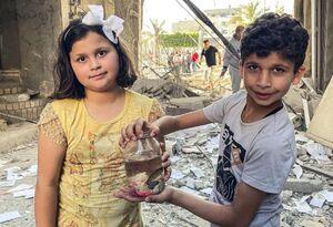 فیلم/ مقایسه این کودکان معصوم با کفتارهای صهیونیست
