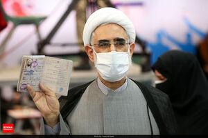 عکس/ منتجب نیا هم وارد وزارت کشور شد